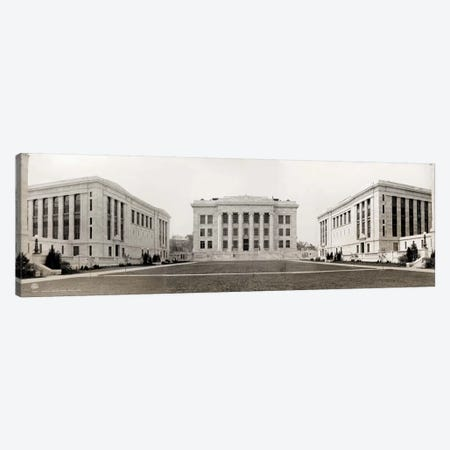 Harvard Medical School, Panorama Canvas Print #PCA486} by Print Collection Canvas Artwork