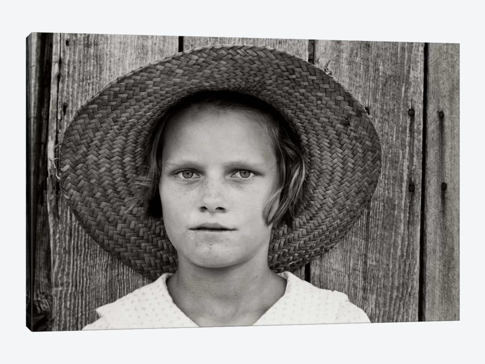 Lucille Burroughs, By Walker Evans by Print Collection 1-piece Canvas Art Print