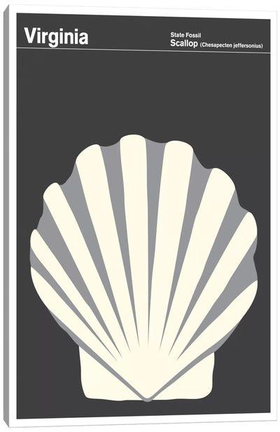 State Posters VA Canvas Print #PCA48