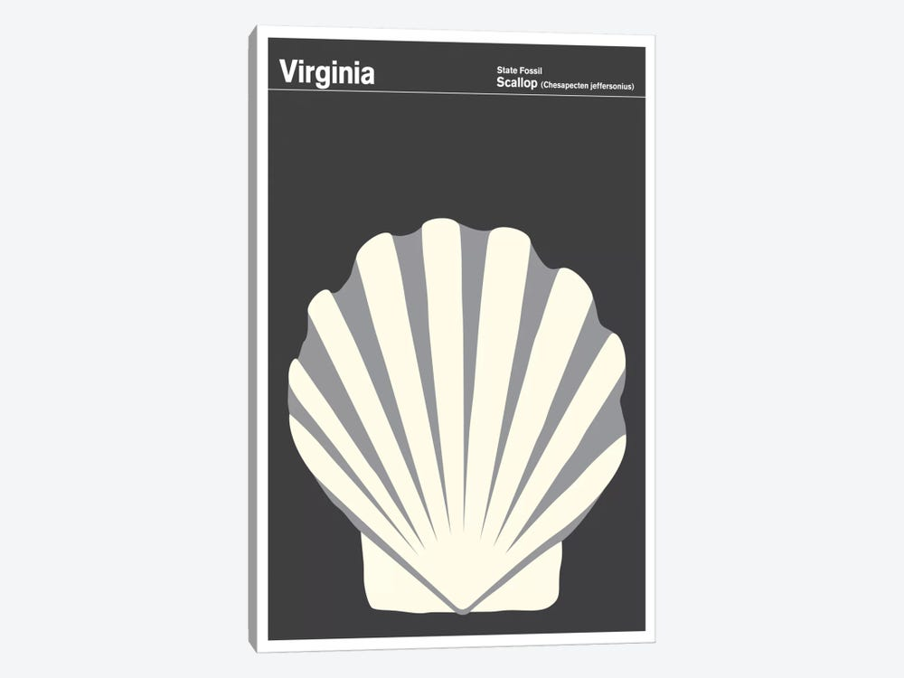 State Posters VA by Print Collection 1-piece Art Print