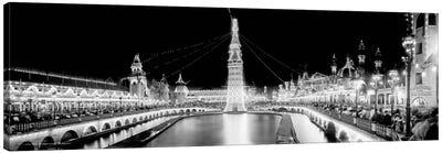 Luna Park at Night, Coney Island Canvas Print #PCA490