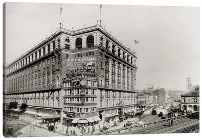 Macy's Department Store, New York, N.Y. Canvas Print #PCA492