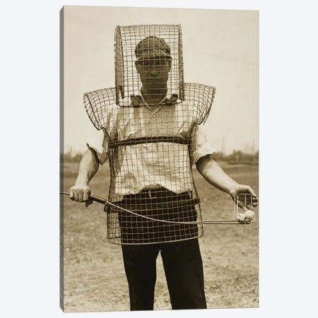 Mouse-trap Armor for Caddies Canvas Print #PCA496} by Print Collection Canvas Art Print
