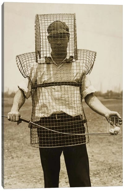 Mouse-trap Armor for Caddies Canvas Print #PCA496