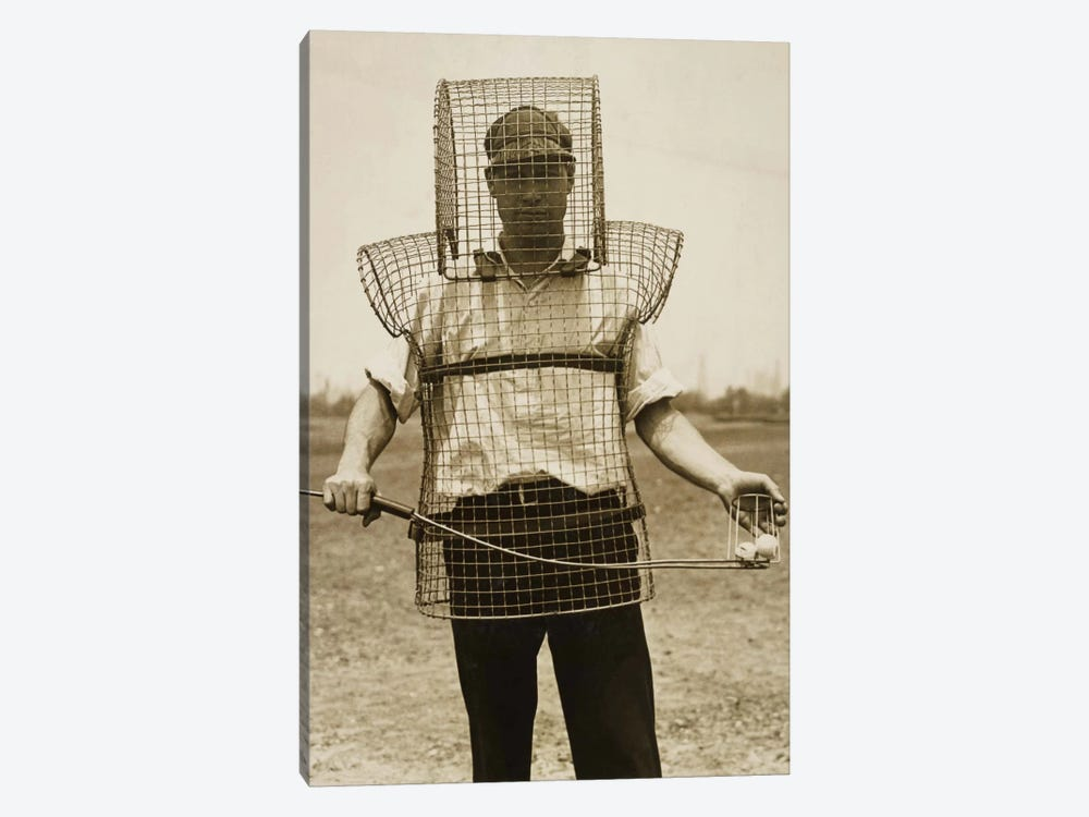 Mouse-trap Armor for Caddies by Print Collection 1-piece Canvas Print