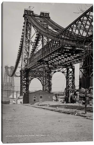 New East River Bridge Canvas Print #PCA497