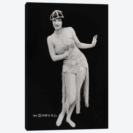 Oooo La-La-La Hula Canvas Print #PCA499} by Print Collection Canvas Art