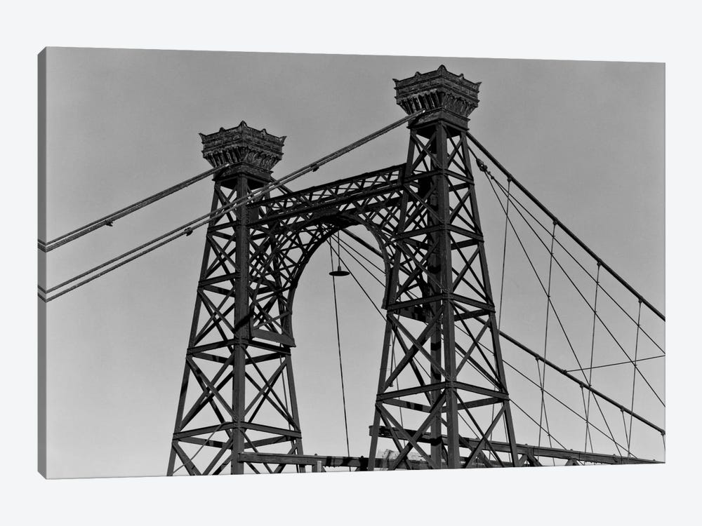 Pedestrian Suspension Bridge, Close Up by Print Collection 1-piece Art Print