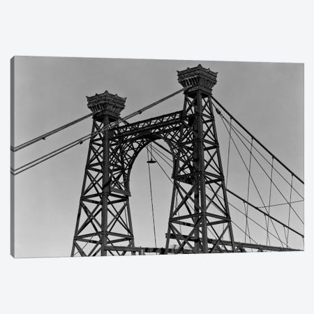 Pedestrian Suspension Bridge, Close Up Canvas Print #PCA500} by Print Collection Canvas Wall Art