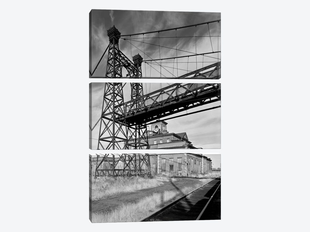 Pedestrian Suspension Bridge by Print Collection 3-piece Canvas Art