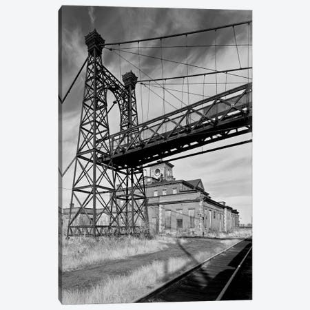 Pedestrian Suspension Bridge Canvas Print #PCA501} by Print Collection Canvas Art