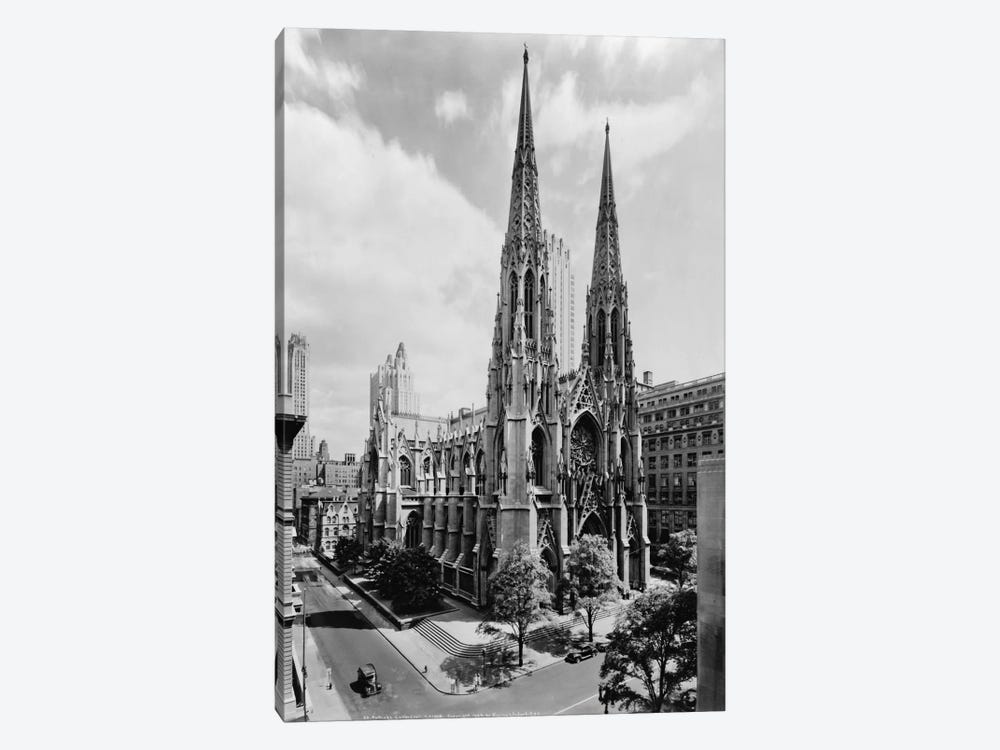 Saint Patrick's Cathedral by Print Collection 1-piece Canvas Artwork