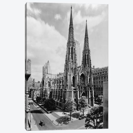 Saint Patrick's Cathedral Canvas Print #PCA510} by Print Collection Canvas Print