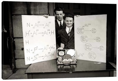 Science Fair 1920's Canvas Art Print