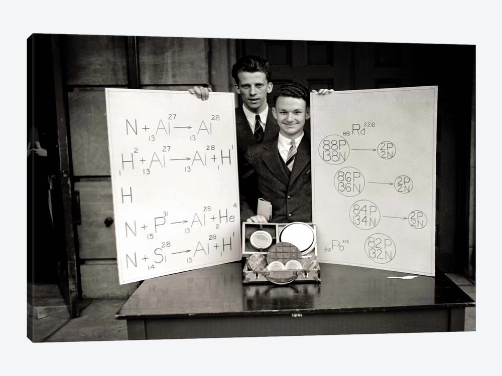 Science Fair 1920's by Print Collection 1-piece Canvas Art Print