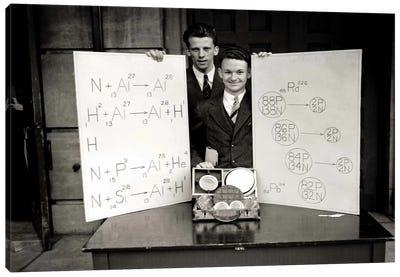 Science Fair 1920's Canvas Art Print