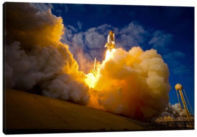 Space Shuttle Atlantis Canvas Art Print
