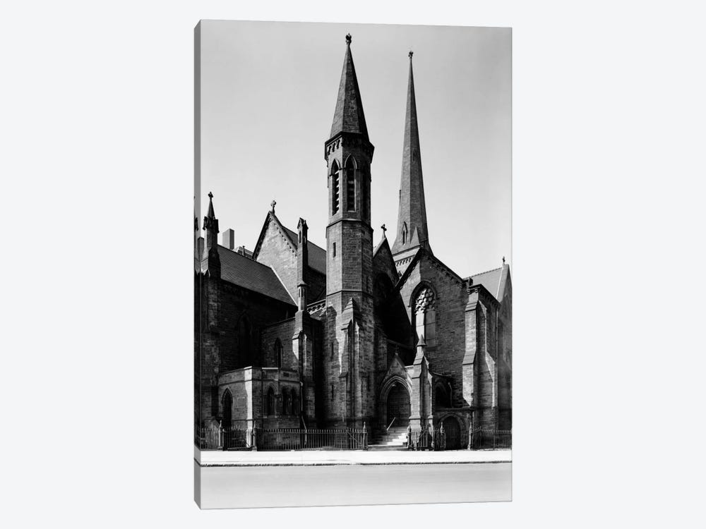 St. Paul's Episcopal Cathedral, Buffalo by Print Collection 1-piece Art Print