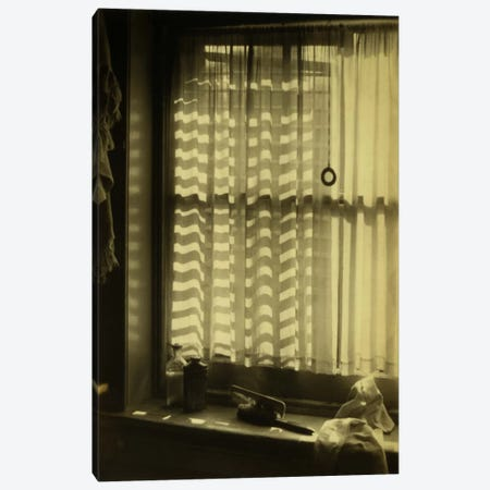 The Bathroom Window Canvas Print #PCA520} by Print Collection Canvas Artwork