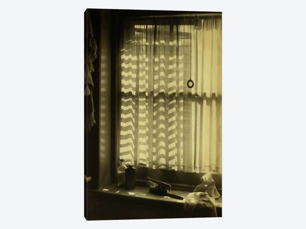 The Bathroom Window by Print Collection 1-piece Canvas Print