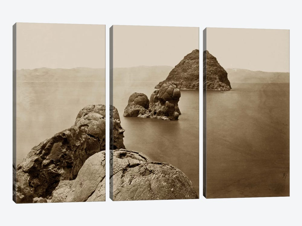 The Pyramid and Domes, NV by Print Collection 3-piece Canvas Wall Art