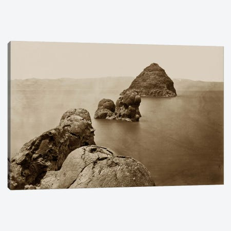 The Pyramid and Domes, NV Canvas Print #PCA521} by Print Collection Canvas Artwork