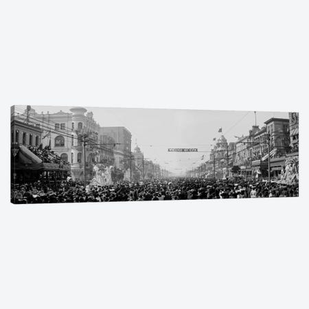 The Rex Pageant, Mardi Gras Canvas Print #PCA522} by Print Collection Canvas Art