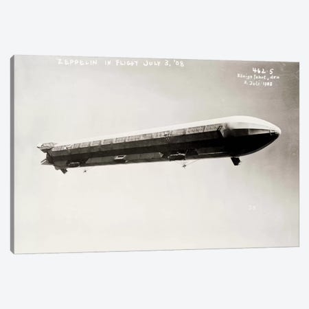 Zeppelin Airship in Flight II Canvas Print #PCA532} by Print Collection Canvas Print
