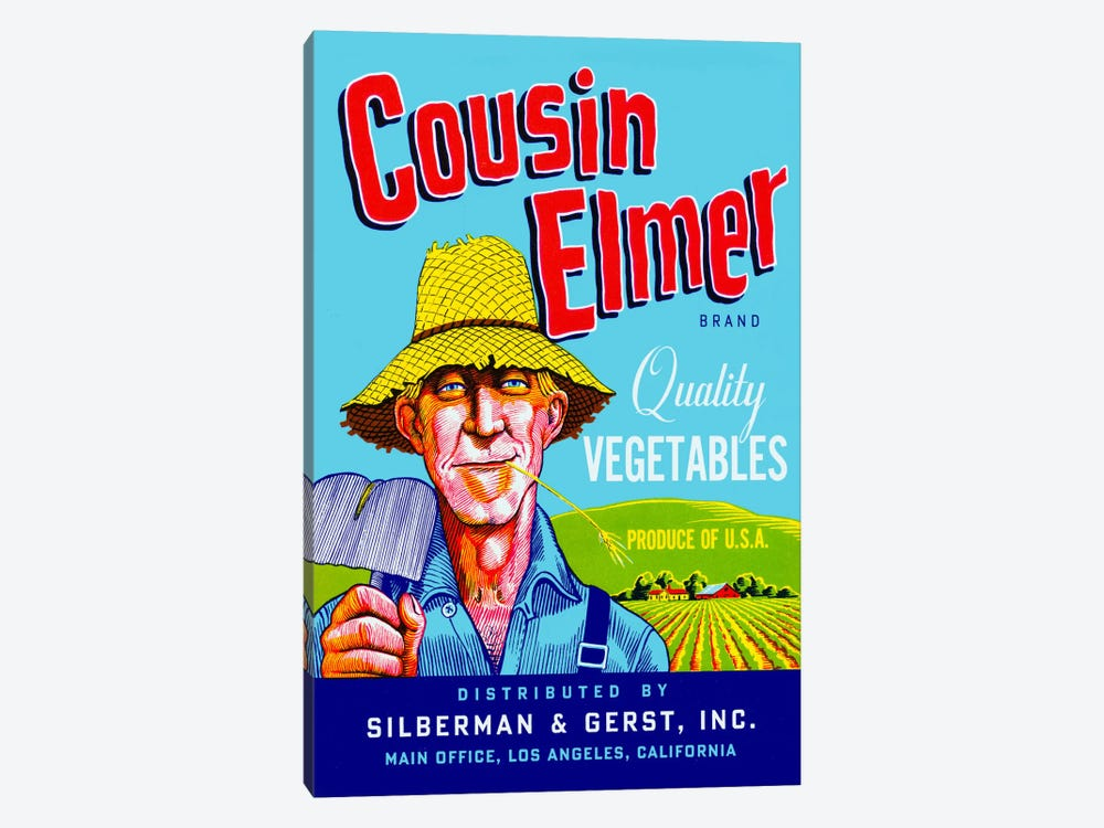 Cousin Elmer by Print Collection 1-piece Canvas Artwork