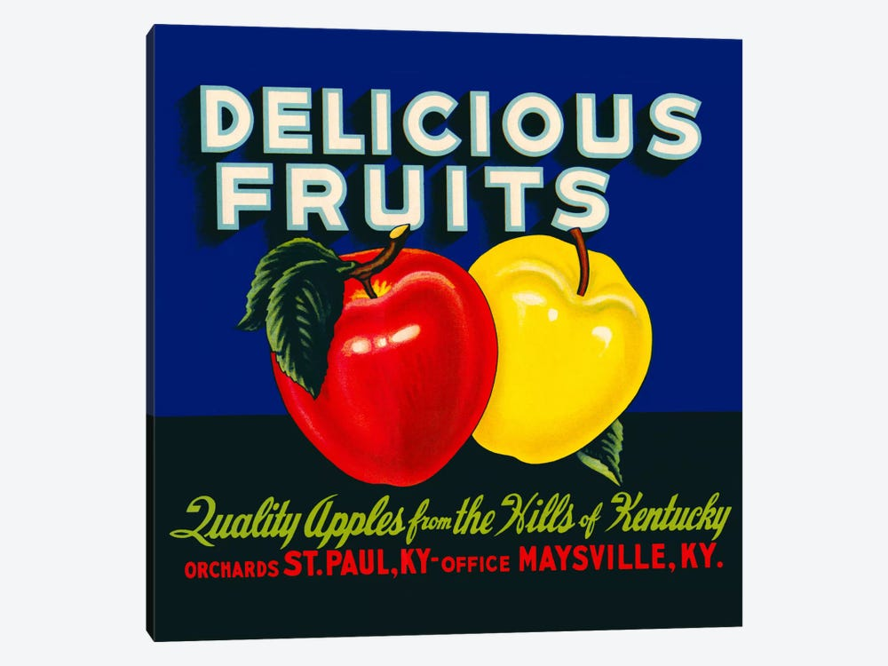 Delicious Fruits by Print Collection 1-piece Canvas Print