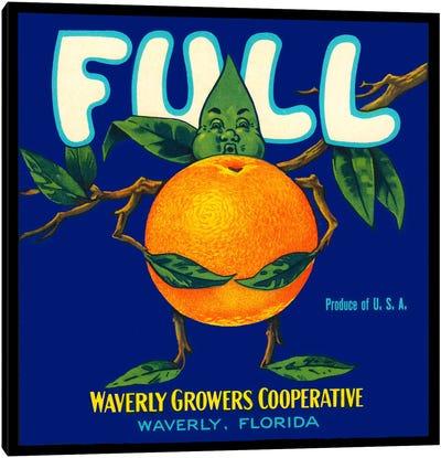 Full Florida Citrus Canvas Art Print