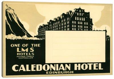 Caledonian Hotel, Edinburg Canvas Print #PCA70