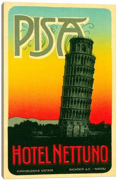 Hoel Nettuno, Pisa Italy Canvas Print #PCA73