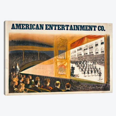 American Entertainment Canvas Print #PCA89} by Print Collection Canvas Wall Art