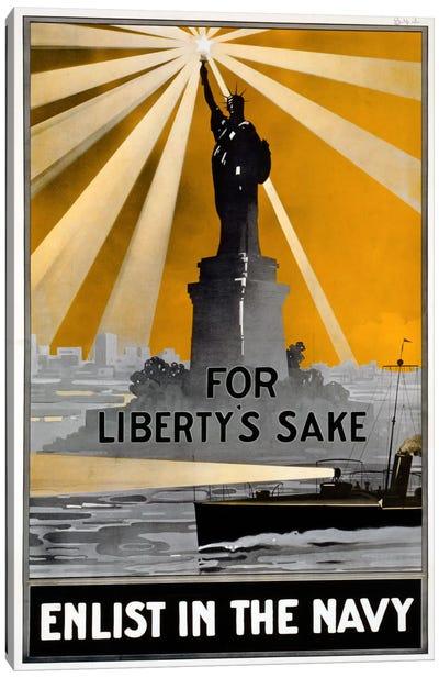 For Liberty's Sake Canvas Art Print
