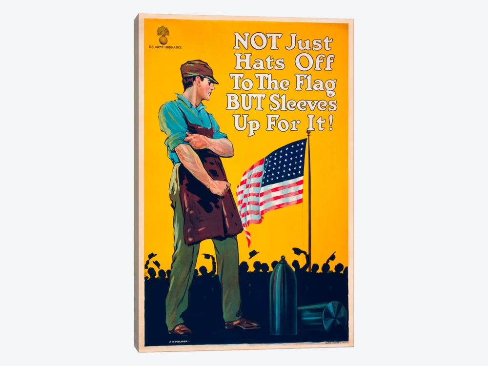 Not Just Hats Off... by Print Collection 1-piece Canvas Artwork