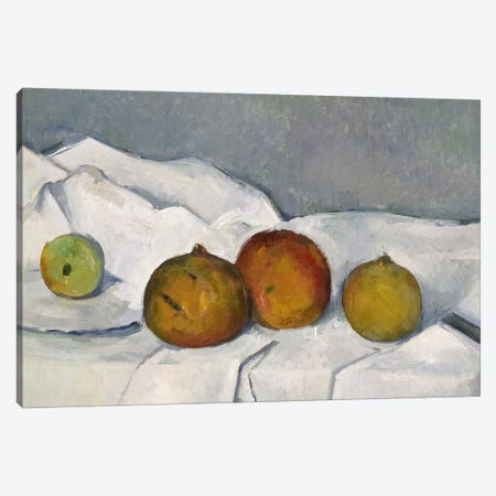 Still Life Canvas Print #PCD1} by Paul Cezanne Canvas Art Print