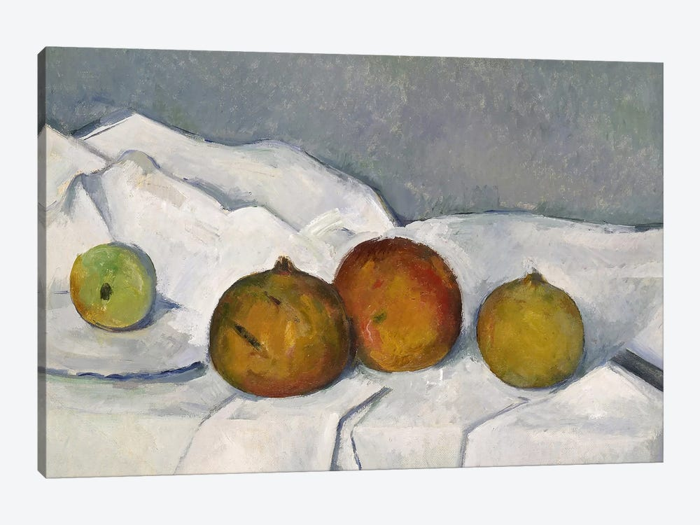 Still Life by Paul Cezanne 1-piece Canvas Artwork