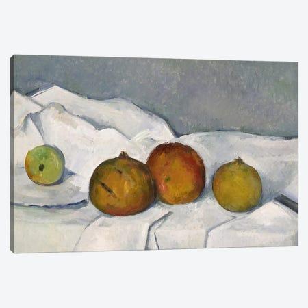 Still Life Canvas Print #PCD1} by Paul Cezanne Canvas Art Print