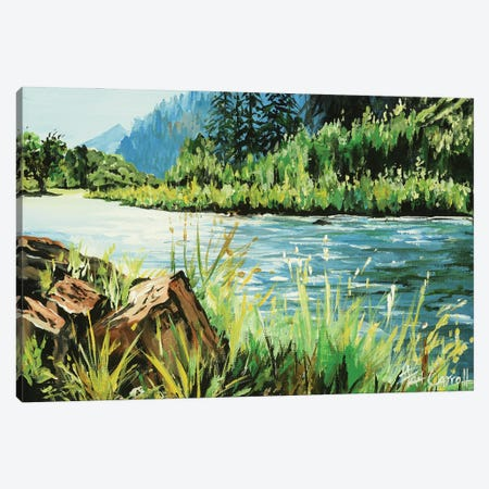 Fly Fishing Dream Canvas Print #PCL14} by Patricia Carroll Canvas Print