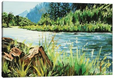 Fly Fishing Dream Canvas Art Print
