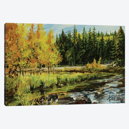 Forest Dreamin Canvas Print #PCL15} by Patricia Carroll Art Print