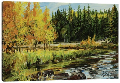 Forest Dreamin Canvas Art Print