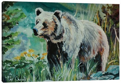 Monarch Of The Forest Canvas Art Print