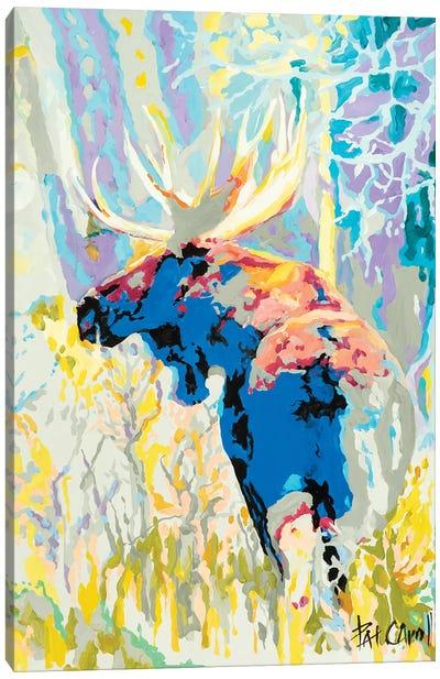 Moose Camoflage Canvas Art Print