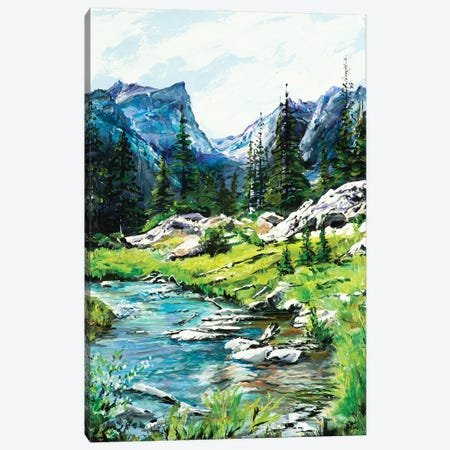 Mountain Meander Canvas Print #PCL24} by Patricia Carroll Canvas Wall Art
