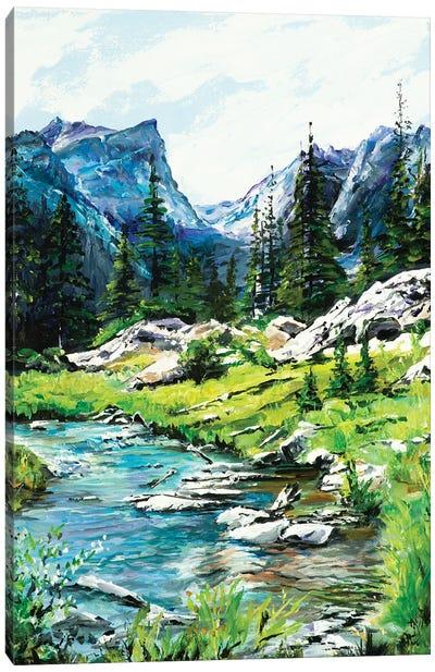 Mountain Meander Canvas Art Print