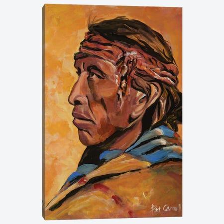 Navajo Elder Canvas Print #PCL25} by Patricia Carroll Canvas Wall Art