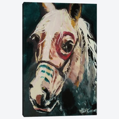 Painted Pony Canvas Print #PCL27} by Patricia Carroll Canvas Wall Art