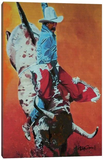 The Bull Rider Canvas Art Print